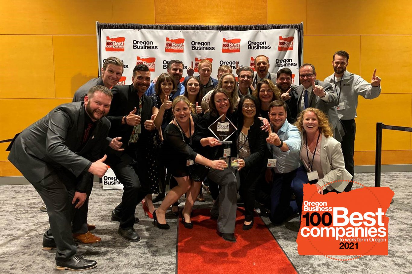 #1 Best Places to Work in Oregon 2021 Photo