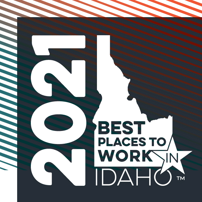 2021 Best Places to Work in Idaho Logo